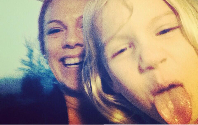 P!nk Shares Silly Selfie with Daughter Willow!