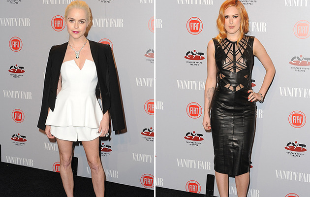 Taryn Manning & Rumer Willis Debut Bold Looks At Vanity Fair Party