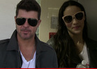 Paula Patton -- Robin Thicke Won&#