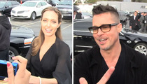 Brad Pitt and Angelina Jolie -- The Great Snack Debate