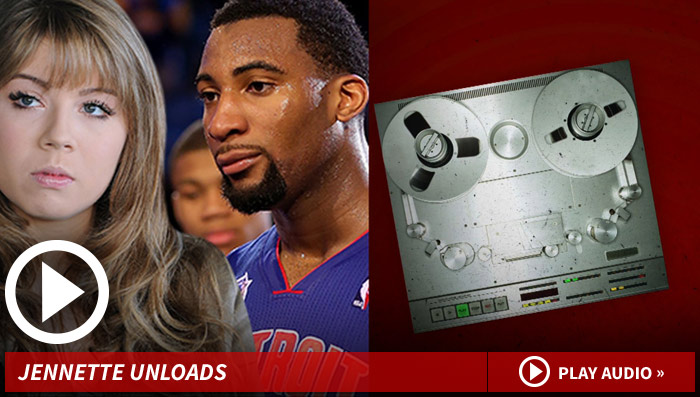 'iCarly' Star Jennette McCurdy -- Puts Andre Drummond On Blast ... Laughs at Relationship, Says Kissing Sucked