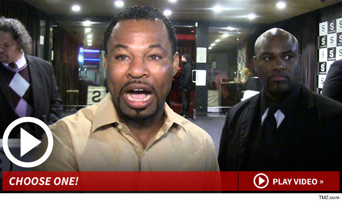 Shane Mosley -- Boxing's More Respected Than UFC ... But I Like It