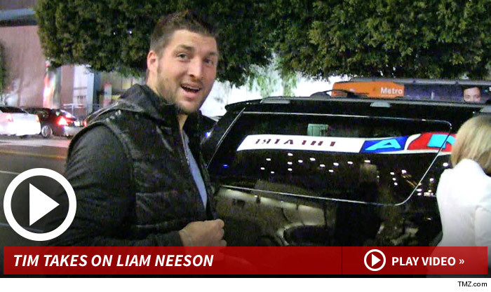 Tim Tebow's Movie Review -- 'Non-Stop'