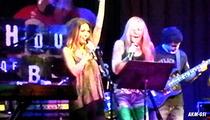 Audrina Patridge -- I'm a Bona Fide Rock Chick Now ... Performs in Vegas (Sort of) [VIDEO]