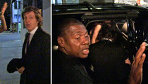 Sir Paul McCartney -- Bodyguard Means Business ... I'll Use My STUN GUN!