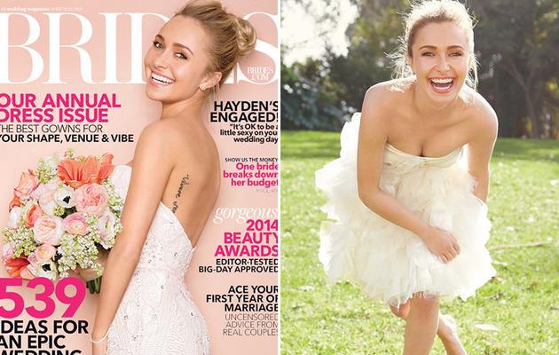 Hayden Panettiere Rocks Wedding Dresses, Talks Recent Engagment!