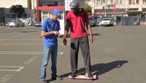 Terrell Owens & Tony Hawk -- Appear in Mystery Hover Board Spot