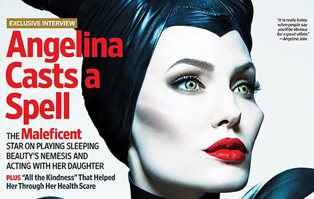 "Angelina Jolie Looks Magnificent as ""Maleficent,"" Talks About Working with Daughter"