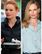Kate Bosworth Shows Off New Red