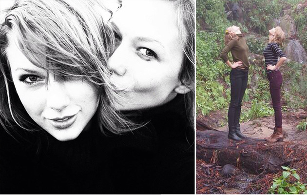 Taylor Swift Takes California Road Trip With Karlie Kloss!