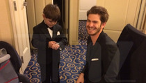 Andrew Garfield -- I Didn't Bail on Batkid ... Oscars Cut Us Both