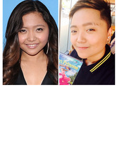 Charice Shows Off Edgy Short 'D