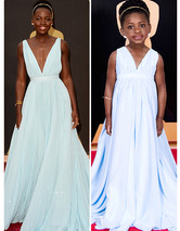 Toddlewood Creates Mini-Me Versions of Oscars 2014 Fash
