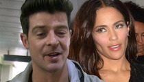 Robin Thicke -- Paula Patton is Softening On Reconciliation