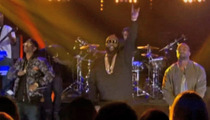 Kanye West -- Suprise and Awesome Appearance on 'Arsenio'