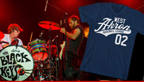 The Black Keys -- We're Donating a Shirtload of Money ... To Our Little League