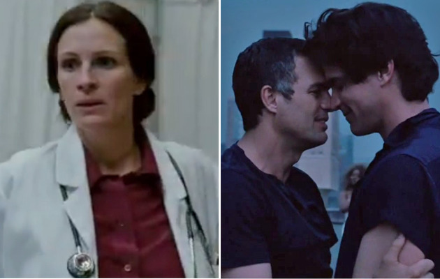 "Video: Julia Roberts & Mark Ruffalo Petition For Help In ""The Normal Heart"""
