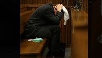 Oscar Pistorius -- VOMITS IN COURT ... During Graphic Description of GF's Wounds