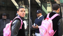 Sacramento Kings Rookie -- I've Got a Hello Kitty Backpack ... AND I MAKE IT LOOK GOOD!