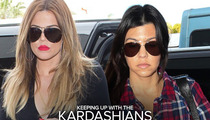 Khloe and Kourtney Kardashian -- Film Crew Supected in Thefts