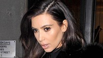 Kim Kardashian -- Crashes Car in Bev Hills