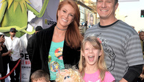 Angie Everhart Looks Happy & Healthy After Cancer Scare