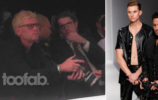 Joe Simpson Supports Model Jonathan Keith at Style Fashion Week L.A.