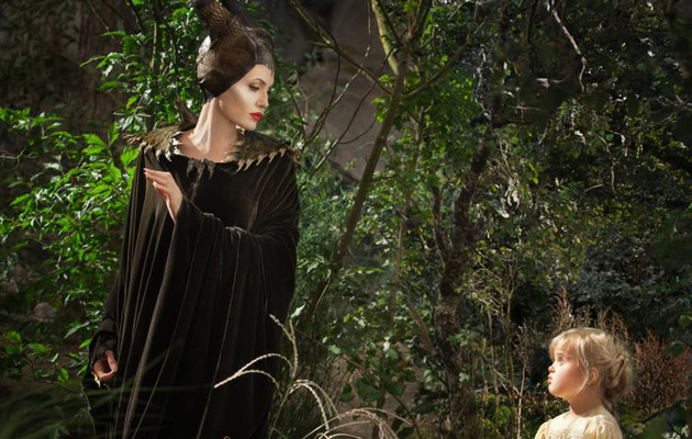 "See Angelina Jolie Vs. Daughter Vivienne in New ""Maleficent"" Movie Stills!"