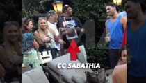 CC Sabathia -- Bday Party Catered By An OSCAR WINNER!!