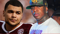 Texas A&M Star Mike Evans -- Signs with Cash Money Sports