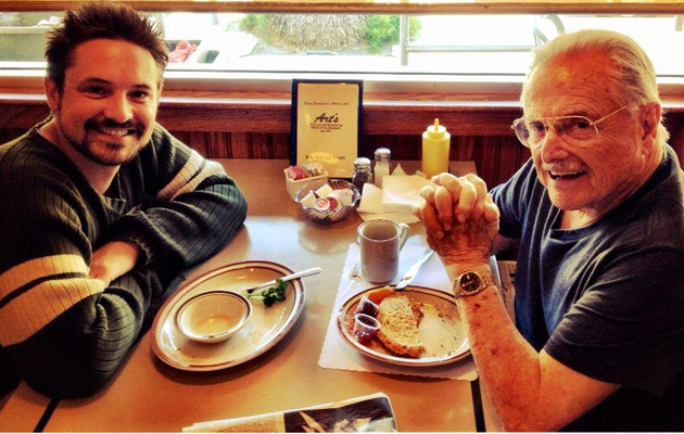 """""""Boy Meets World's"""" Eric & Mr. Feeny Reunite -- See The Pic!"""