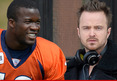 Broncos RB Ronnie Hillman -- Good Riddance, Aaron Paul ... Go Be a Raiders Fan!