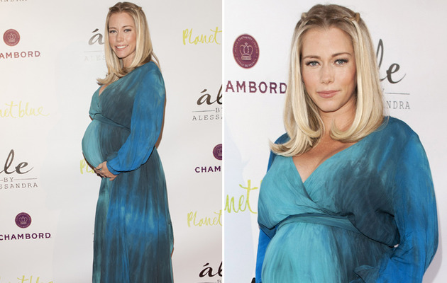 Kendra Wilkinson Shows Off BIG Baby Bump on Red Carpet