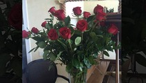 Bill Belichick -- HEY, I'M ROMANTIC! ... Sends Anniversary Roses to GF