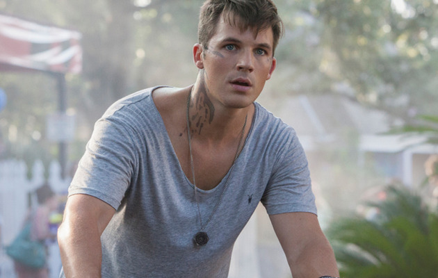 """Star Crossed"" Stud Matt Lanter Talks Shirtless Scenes, Says ""I Can't Get Out of High…"