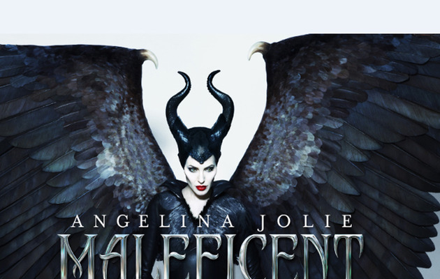 "Angelina Jolie Spreads Her Wings in New ""Maleficent"" Poster!"