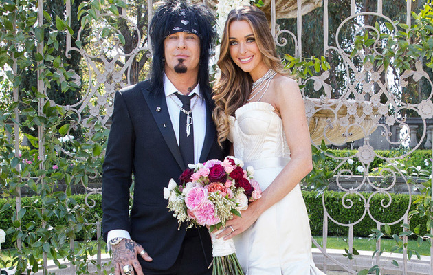 Mötley Crüe's Nikki Sixx Marries Courtney Bingham -- See the Wedding Photos!