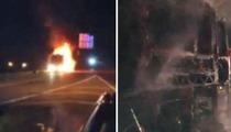 Miley Cyrus -- My Tour Bus Burst Into Flames!