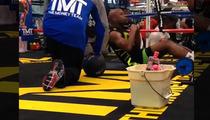 Floyd Mayweather -- Hardcore Gym Training ... to JUSTIN BIEBER Music