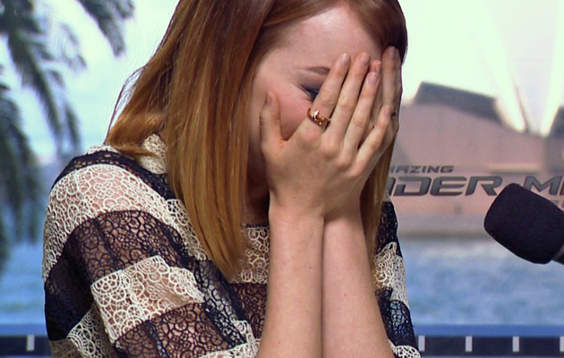 Video: Emma Stone Geeks Out Over Spice Girls, Tears Up & Sings!