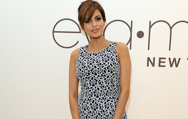 "Eva Mendes Talks Working With Ryan Gosling: ""He's The Best!"""