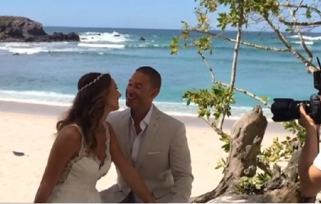 Stacy Keibler Shares Sweet Video From Beach Wedding