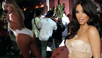 Kim Kardashian -- Moves on Up to Earn Her Black Card ... Finally
