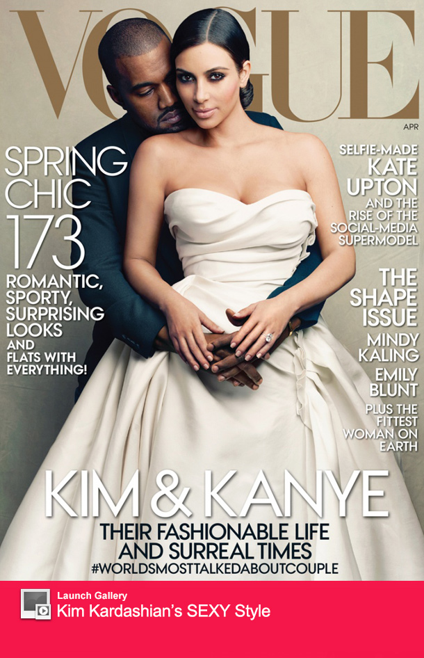 Kim Kardashian Vogue Cover Sales