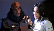 Rosario Dawson -- Causes Star Trek Nerdgasm with Her Tongue