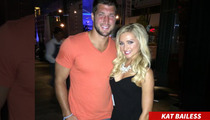 Tim Tebow -- PROPOSITIONED FOR VH1 SHOW ... At Fancy Steak Dinner