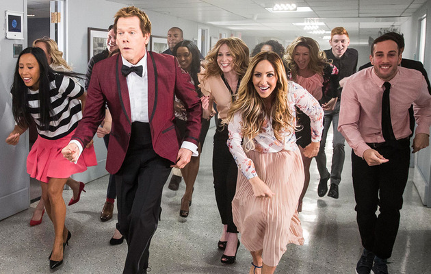 "Kevin Bacon Recreates ""Footloose"" Dance -- And It's Amazing!"