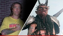 Dave Brockie Found Dead -- Gwar Frontman Dies Sitting Upright in Chair