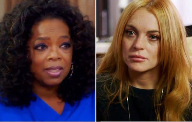 Oprah Warns Lindsay Lohan: You Need to Cut the Bulls***!