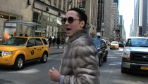 Johnny Weir -- Asking for Privacy ... After Blabbing Away